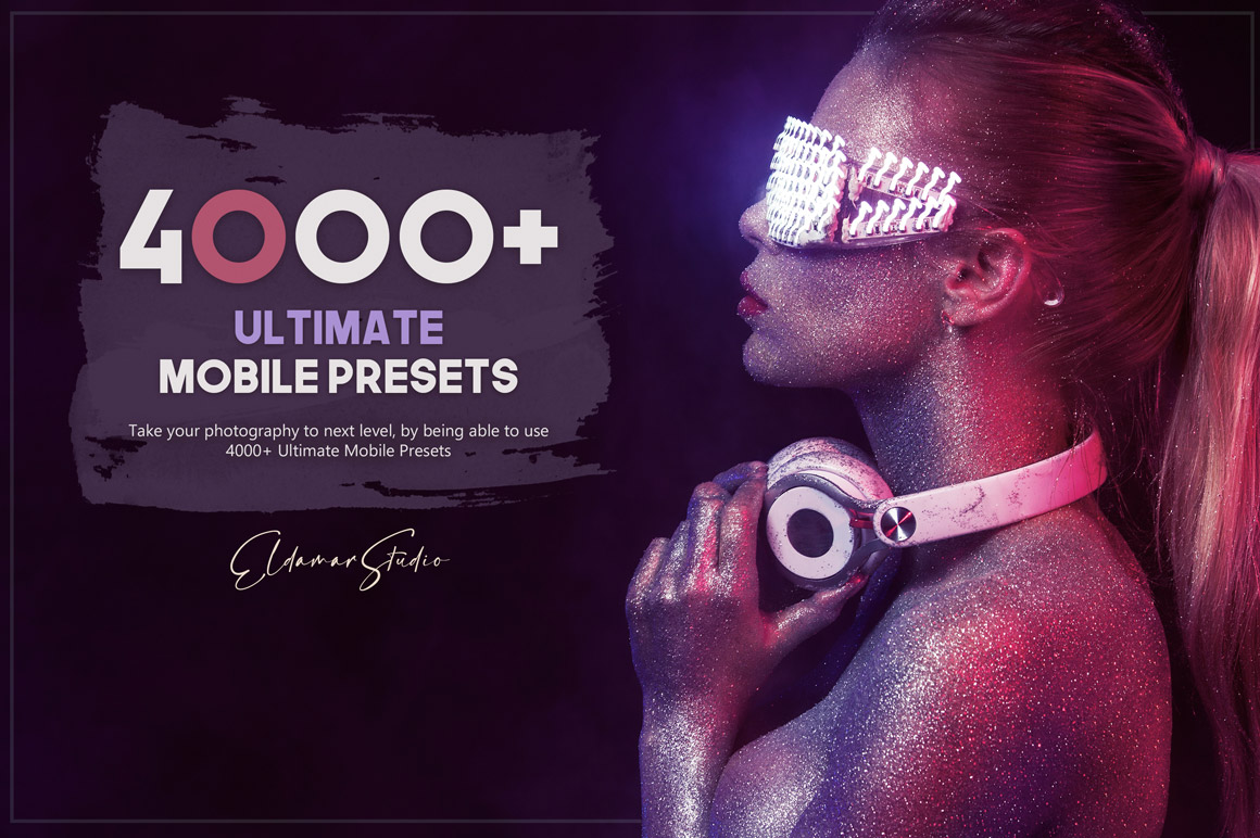 The Ultimate Mobile Presets Bundle - 4000 Presets for your mobile devices