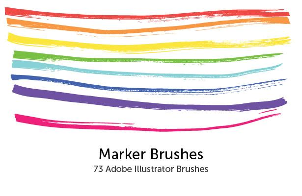 Marker brush gimp