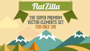 Flatzilla - Awesome Premium Vector Bundle for only $19