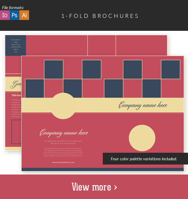 Fold Brochures