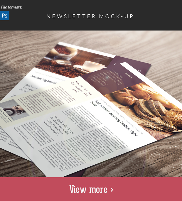Newsletter Mock-Up