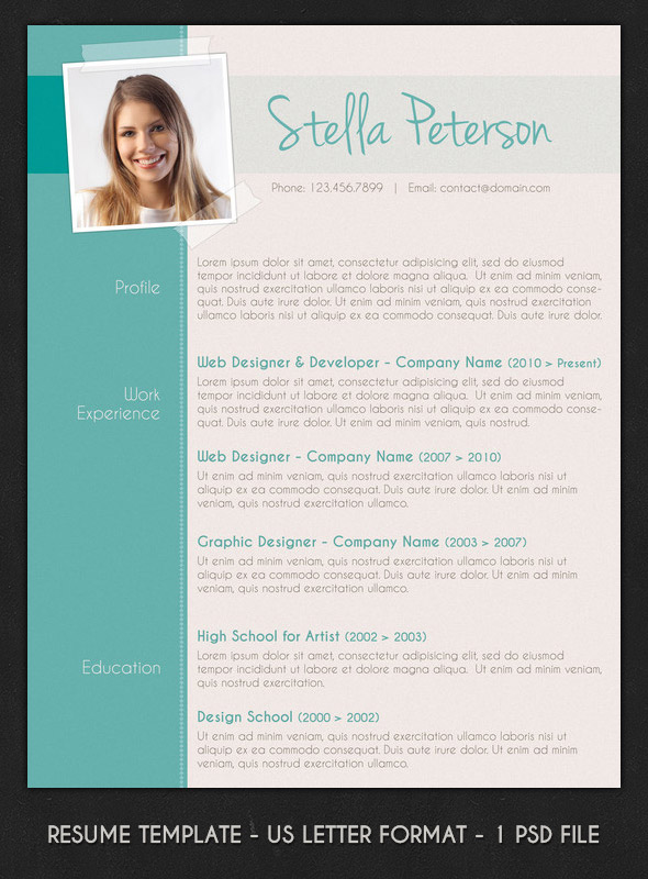 modern resume with call outs Idealvistalistco