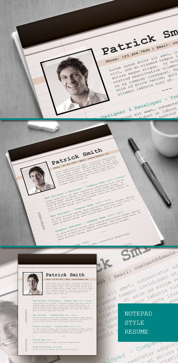 8 premium resume templates for  18
