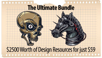 The Ultimate Bundle - $2500 Worth of Design resources for just $59