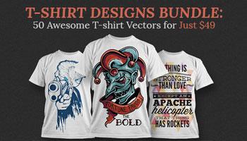 Download 50 Magnificent T-shirt Vectors
