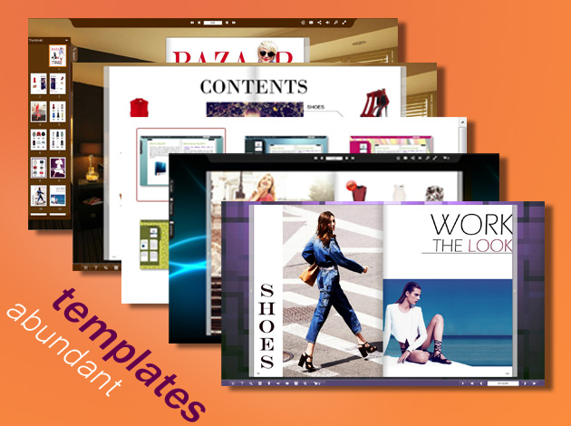Flip PDF: Create Stunning Digital Publications for Your Website – Windows only