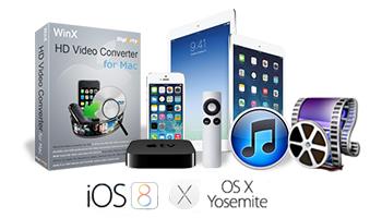 WinX HD Video Converter for Mac - Premium 4K/1080p HD Video Converter for Only $12