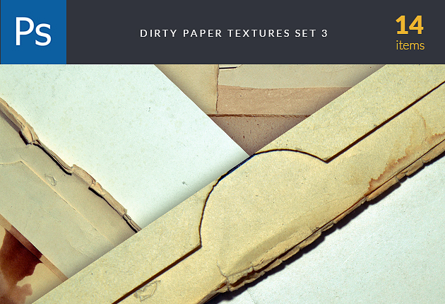 textures-dirty-paper-set
