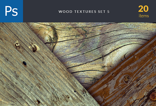 textures-wood-bark-set