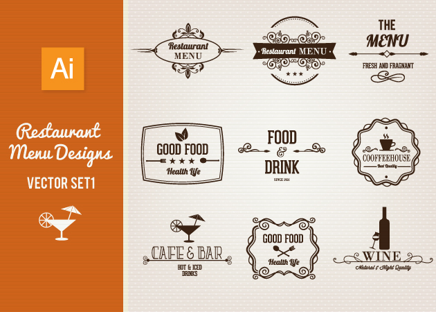 Vector-Restaurant-Menu-Designs