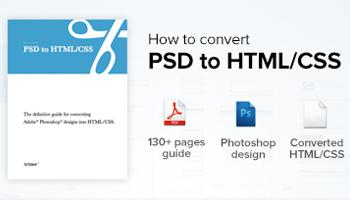 eBook: Convert PSD files to HTML/CSS