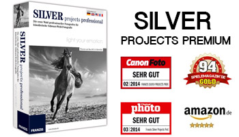 SILVER projects premium – High-end software for classic black-and-white photography Mac OSX/Window