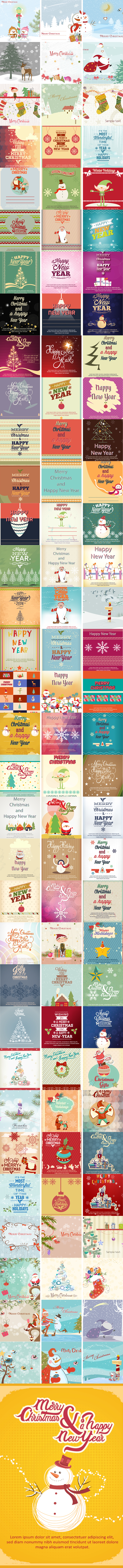 100-holiday-illustrations
