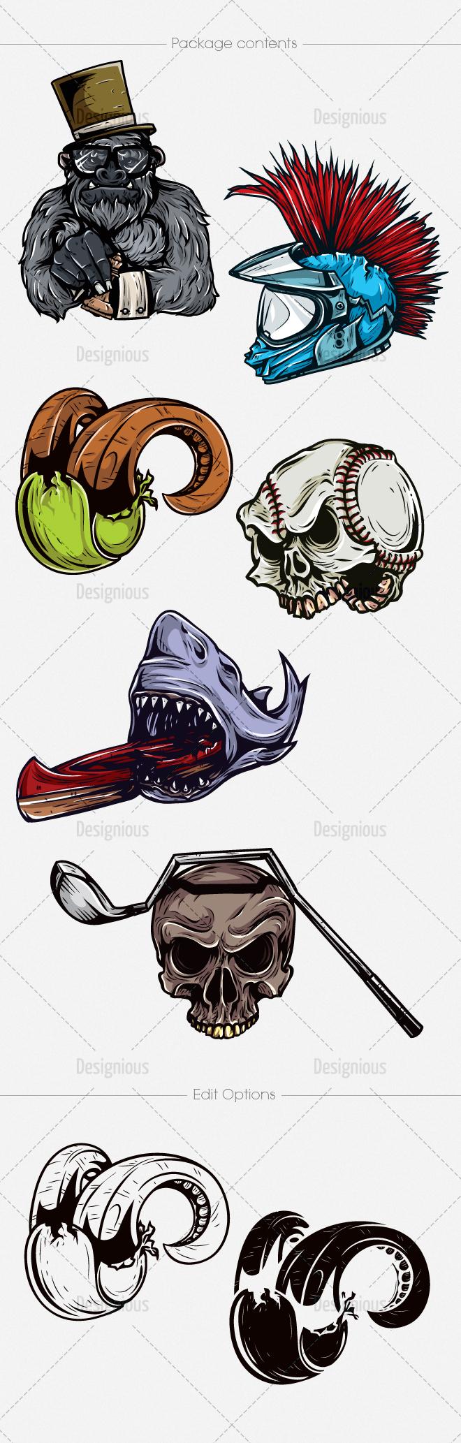 Vector Mascots