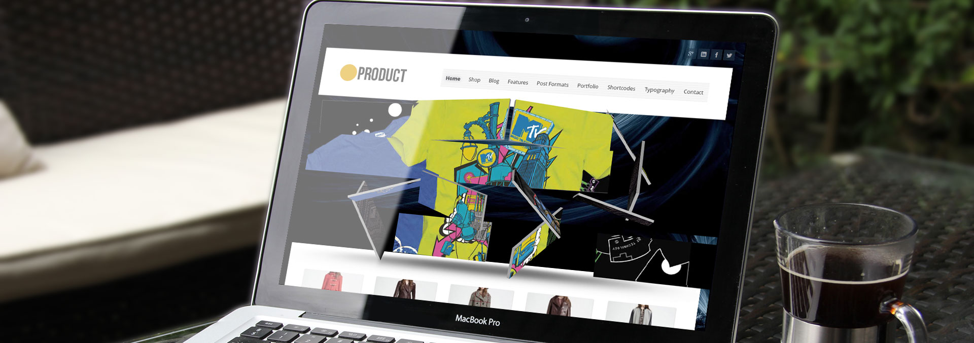 product wordpress theme