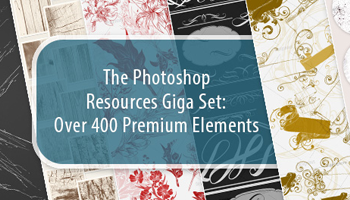 Get 400+ Premium Photoshop Elements & Resources for Just $24