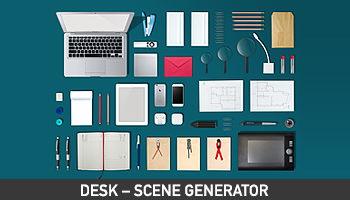 Desk – Awesome Scene Generator - Only $11