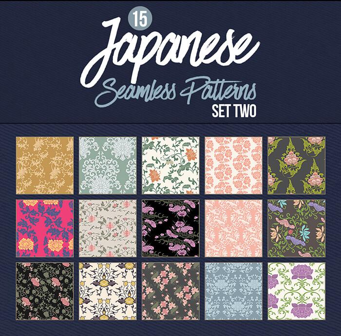 Japanese Patterns - Set 02