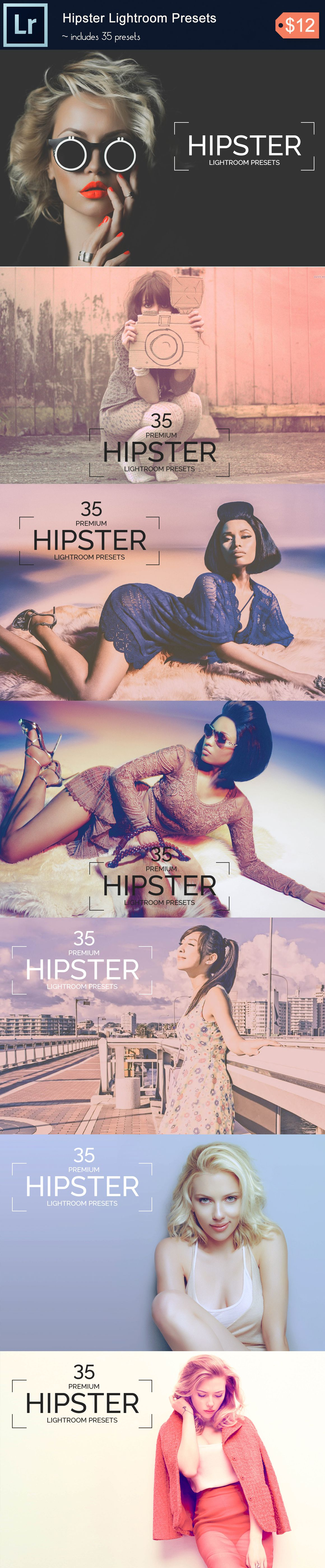 35 Hipster Lightroom Presets