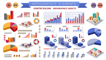 250+ Top-Quality Infographic Vectors for Business and Presentations - Only $10