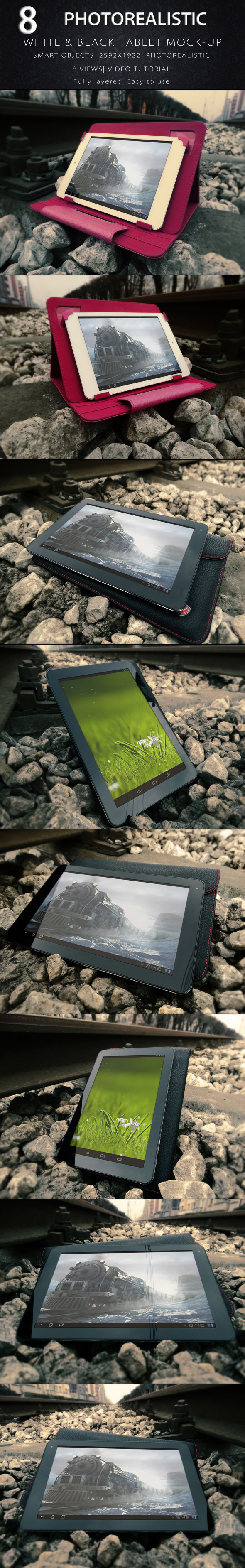 Photorealistic Tablet