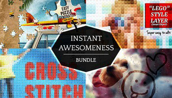 Photoshop Instant Effects Bundle