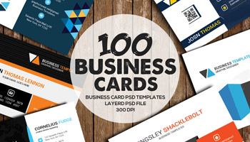 100 Premium Business Card Templates