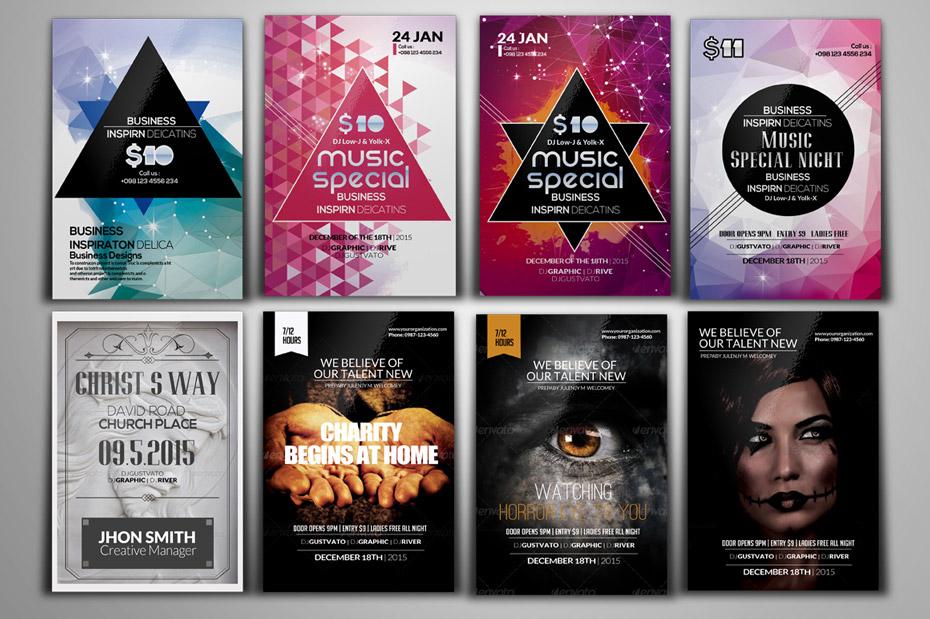 Parte flyers