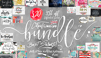 Bundle of Fonts and Graphics - 95% OFF