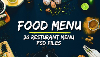 20 Food Menu Templates