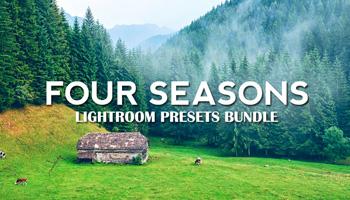 4 Seasons Lightroom Presets - Get 200 Lightroom Presets for only $15