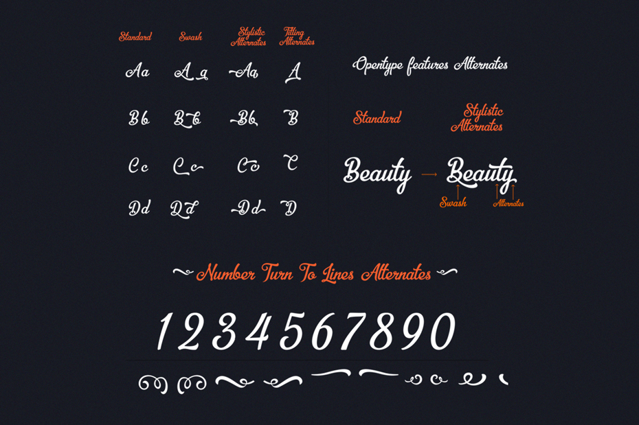 font collection