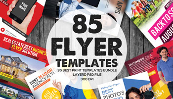 Get 85 Premium Business Flyers