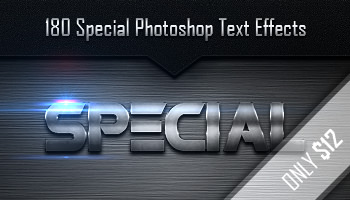 180 Special Photoshop Text Effects