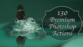 130 Premium Photoshop Actions - only $9
