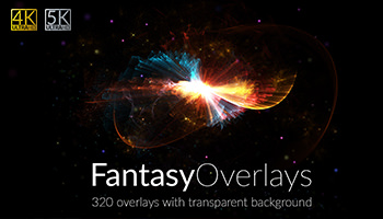 320 Fantasy Overlays with Extended License