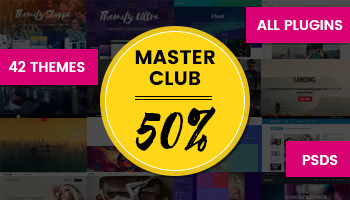 Themify Master Club membership: 42+ Premium WordPress Themes, Plugins, & Addons for only $69