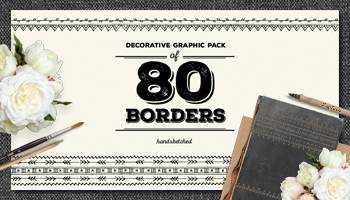 80 Must-have Vector Decorative Borders
