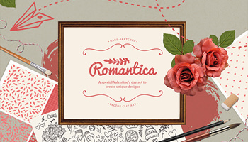Romantica - A special love set to create unique designs
