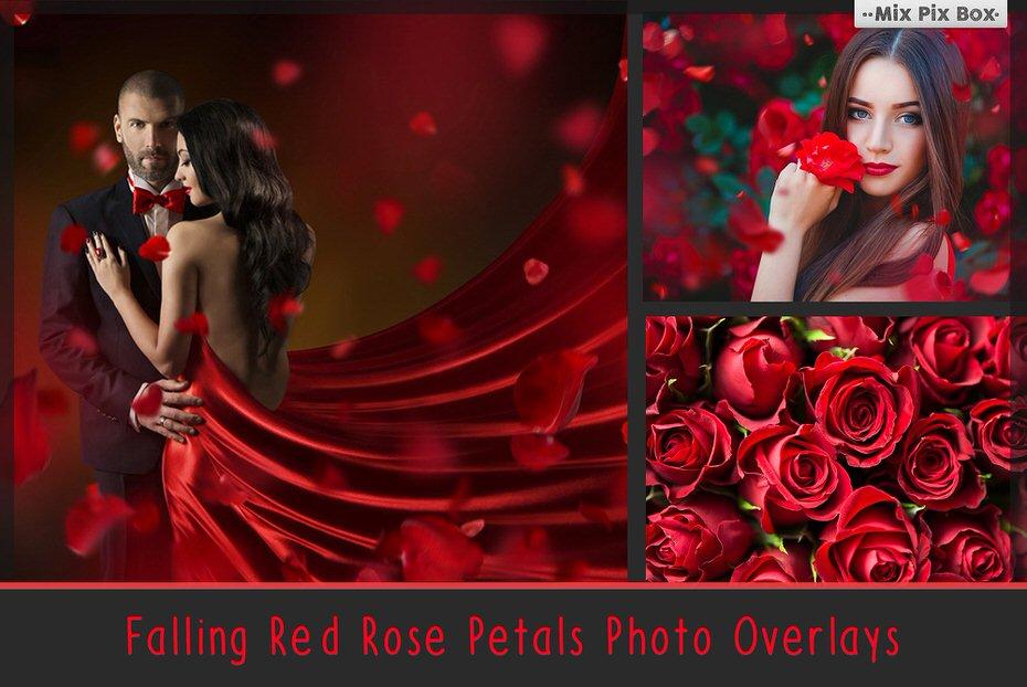 red falling