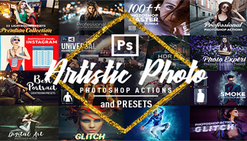 Artistic Photoshop Actions and Presets