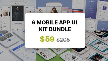 Mobile App UI KIT Bundle