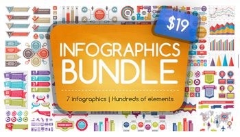 The Big Pack of Infographic Elements - Only $19