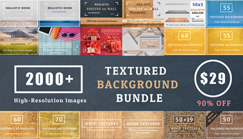 2000+ Textures Background Bundle