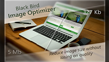 Optimize your images with Black Bird Image Optimizer