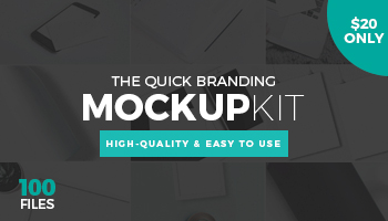 The Quick Branding Mockup Kit - For Only $20