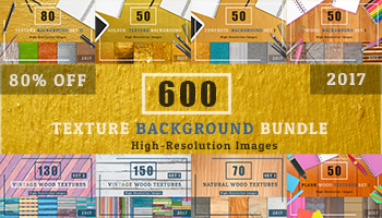 600 Texture backgrounds for only $19