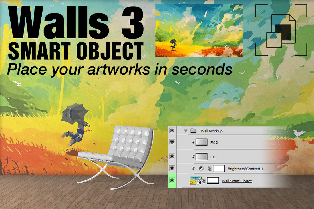 Art On Walls Scene Creator Mega Pack