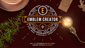 Emblem Creator all in one file - only 100 copies available