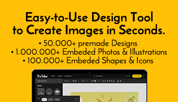 Lifetime account - Easy-to-use design tool to create or customize any image in seconds.